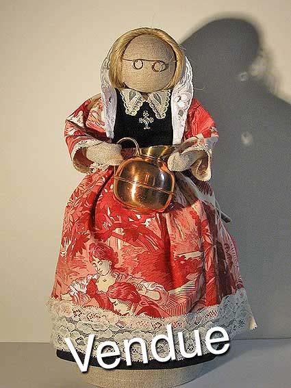 ©Les Bigoudines de Sandrine-Poupees artisanales bretonnes-Ermine