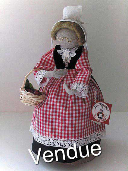 ©Les Bigoudines de Sandrine-Poupees artisanales bretonnes-Severine