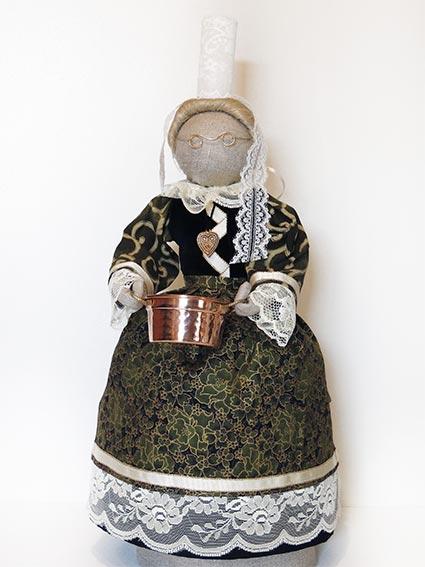 ©Les Bigoudines de Sandrine-Poupees artisanales bretonnes-Evangeline
