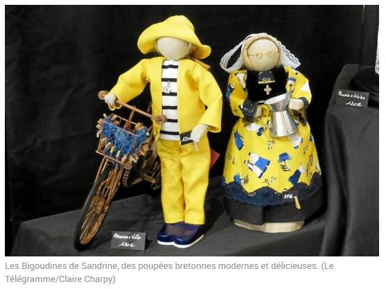Les Bigoudines de Sandrine-Poupees artisanales bretonnes- Le Télégramme
