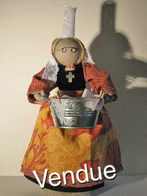 ©Les Bigoudines de Sandrine-Poupees artisanales bretonnes-Dorine