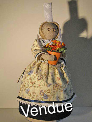 ©Les Bigoudines de Sandrine-Poupees artisanales bretonnes-Flamine
