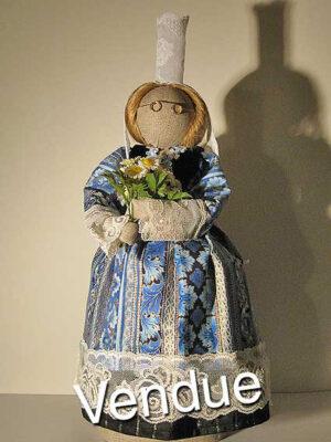 ©Les Bigoudines de Sandrine-Poupees artisanales bretonnes-Martine
