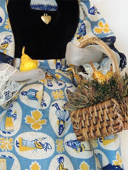 ©Les Bigoudines de Sandrine-Poupees artisanales bretonnes-Williamine